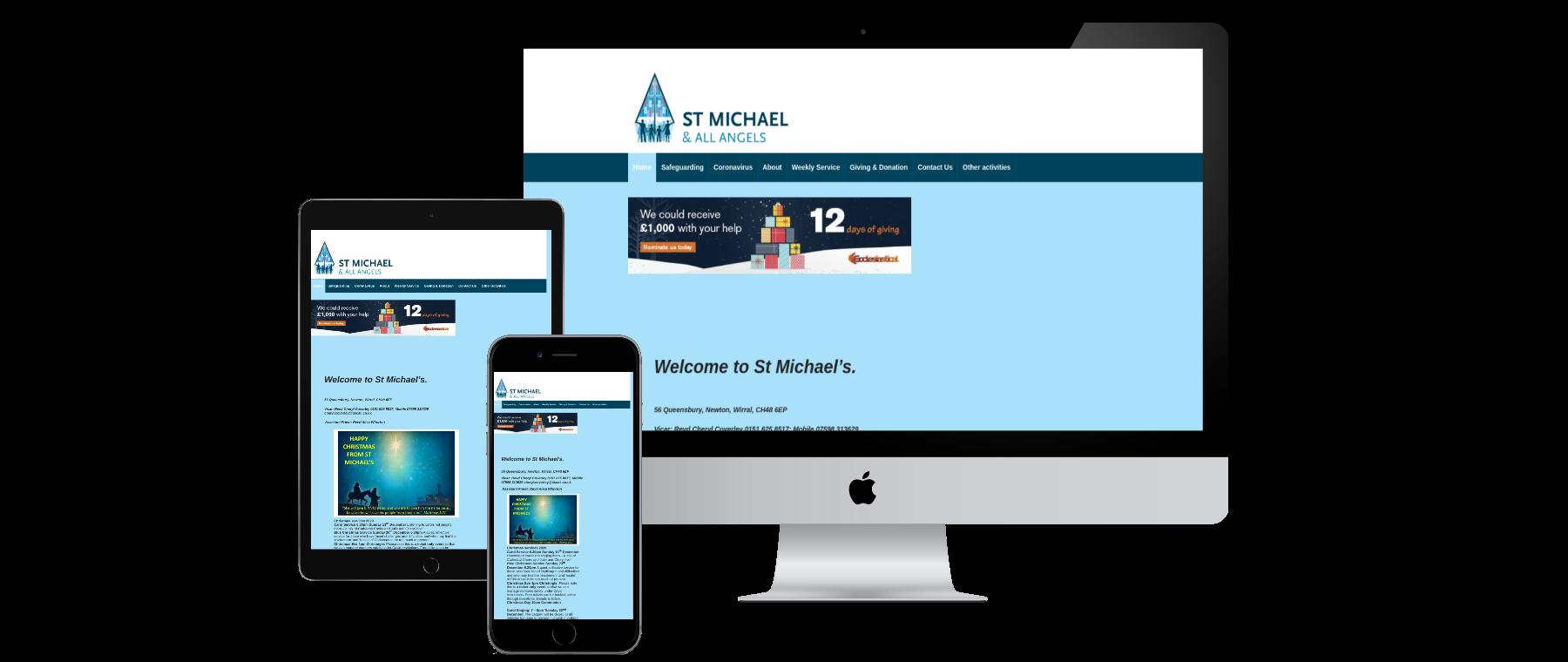 St Michael's - Website Designed by Alba Digital Solutions