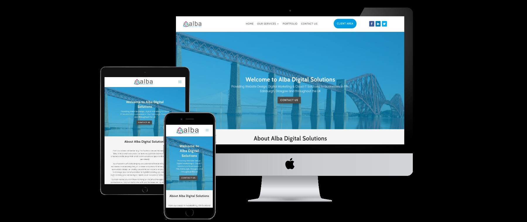 Alba Digital Solutions - Website Design