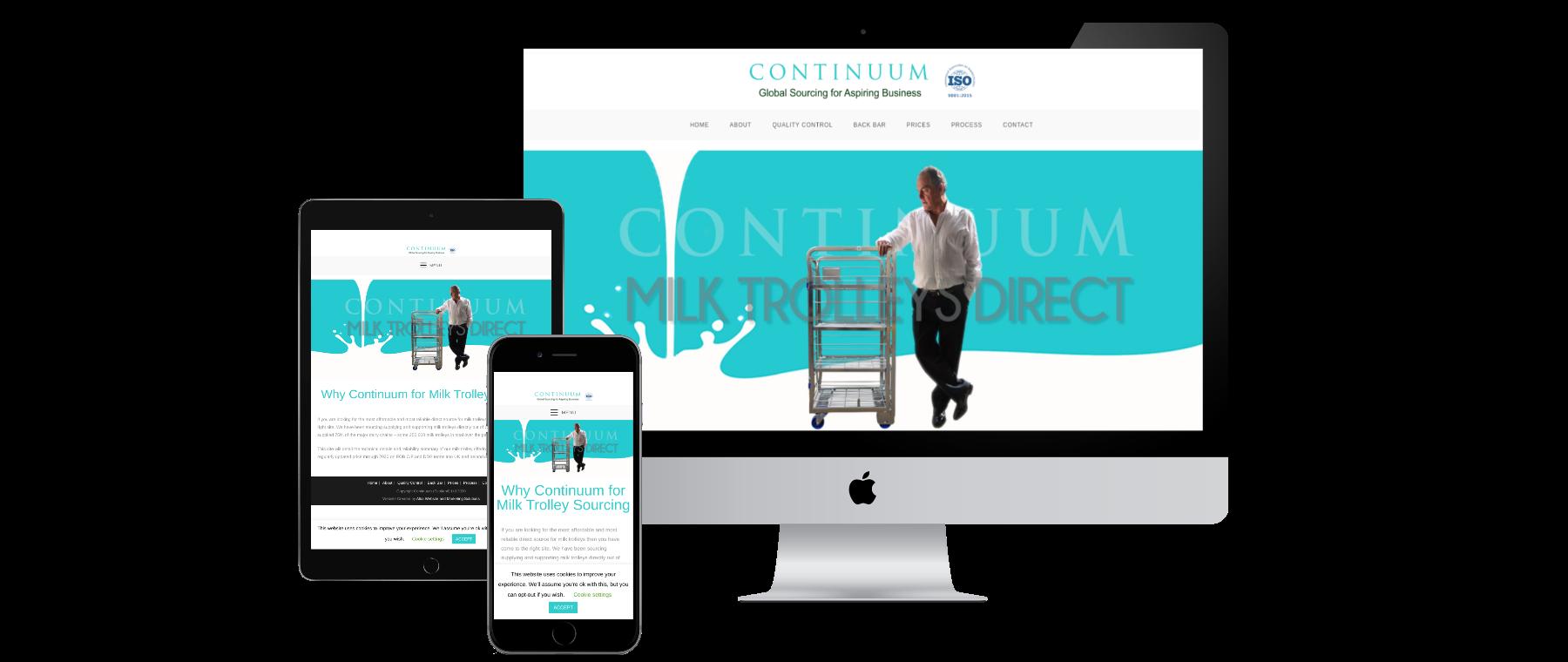 Milk trolleys Direct - Website Designed by Alba Digital Solutons